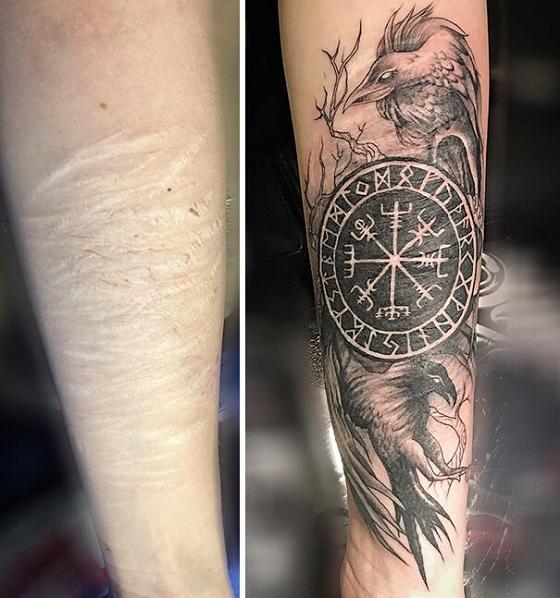 Cicatrizes Transformadas Em Fantásticas Tatuagens (14)