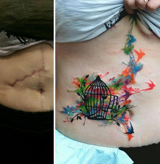 Cicatrizes Transformadas Em Fantásticas Tatuagens (20)