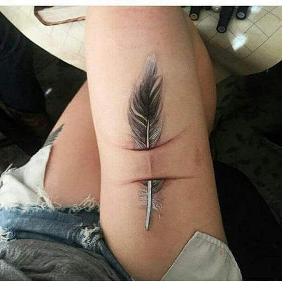 Cicatrizes Transformadas Em Fantásticas Tatuagens