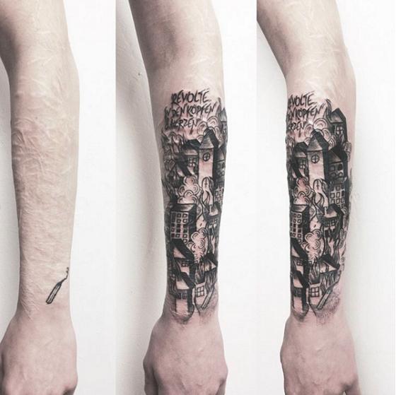 Cicatrizes Transformadas Em Fantásticas Tatuagens10