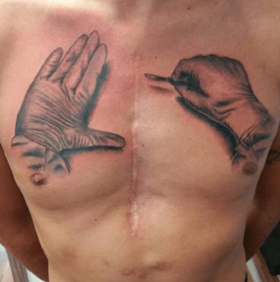 Cicatrizes Transformadas Em Fantásticas Tatuagens7