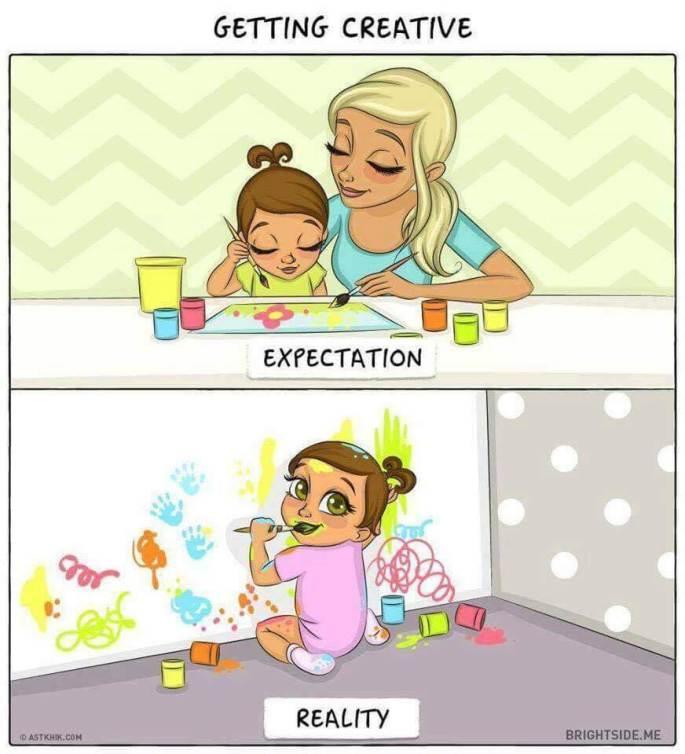 Divertidas Ilustrações Do Antes E Depois Da Chegada De Um Bebé (4)