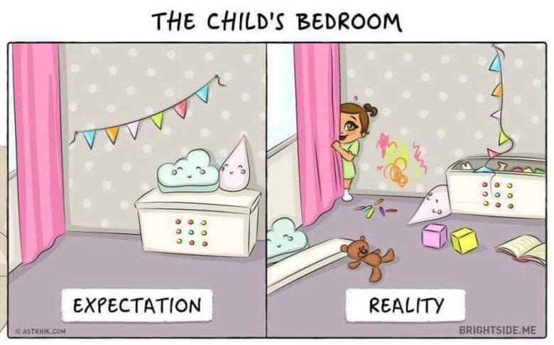 Divertidas Ilustrações Do Antes E Depois Da Chegada De Um Bebé (5)