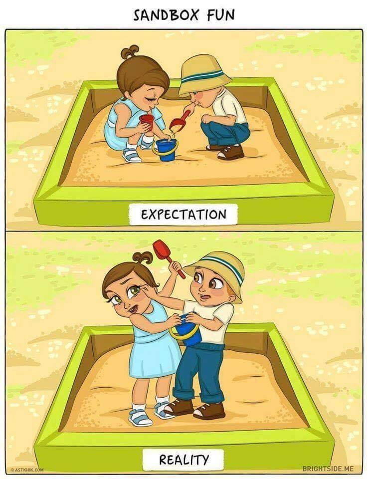 Divertidas Ilustrações Do Antes E Depois Da Chegada De Um Bebé (6)