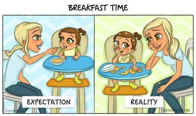 Divertidas Ilustrações Do Antes E Depois Da Chegada De Um Bebé (8)