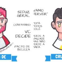 Ilustrações Divertidas Do Crush De Cada Signo