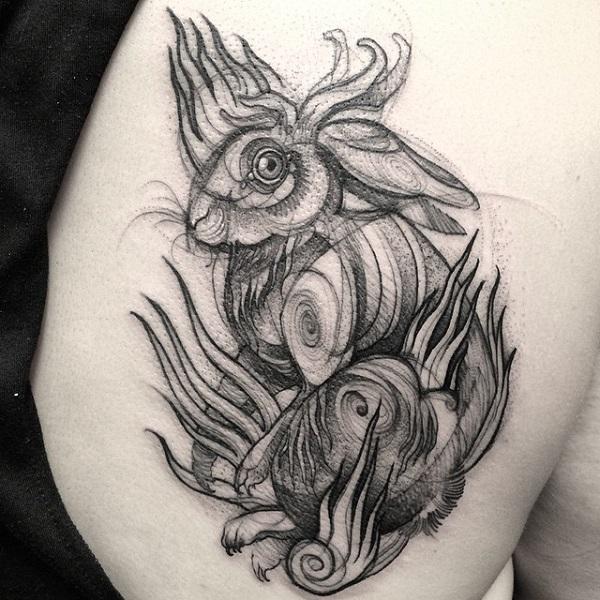 Impressionantes Tatuagens De Nomi Chi Parecem Esboços A Lápis (10)