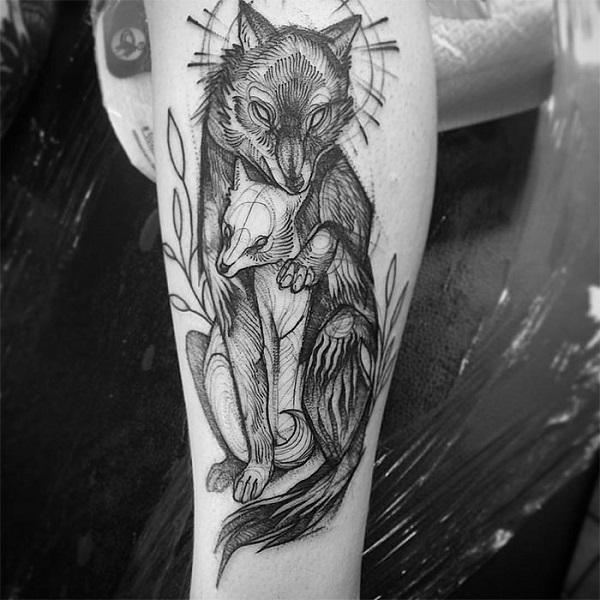 Impressionantes Tatuagens De Nomi Chi Parecem Esboços A Lápis (13)