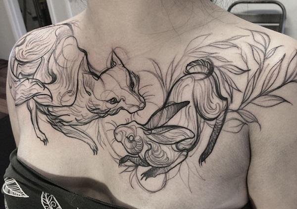Impressionantes Tatuagens De Nomi Chi Parecem Esboços A Lápis (16)