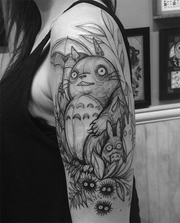 Impressionantes Tatuagens De Nomi Chi Parecem Esboços A Lápis (17)