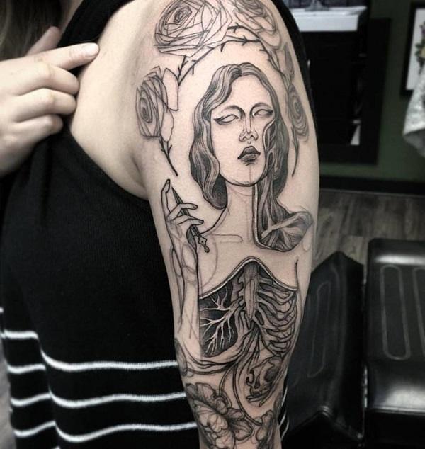 Impressionantes Tatuagens De Nomi Chi Parecem Esboços A Lápis