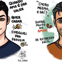 Os Homens De Cada Signo Em Divertidas Ilustrações