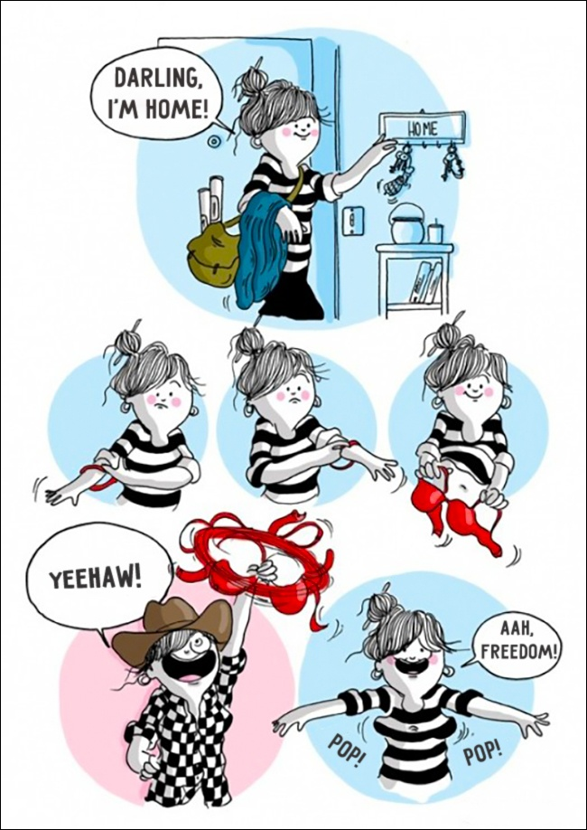 10 Ilustrações Que Explicam Exatamente O Que É Ser Mulher (6)