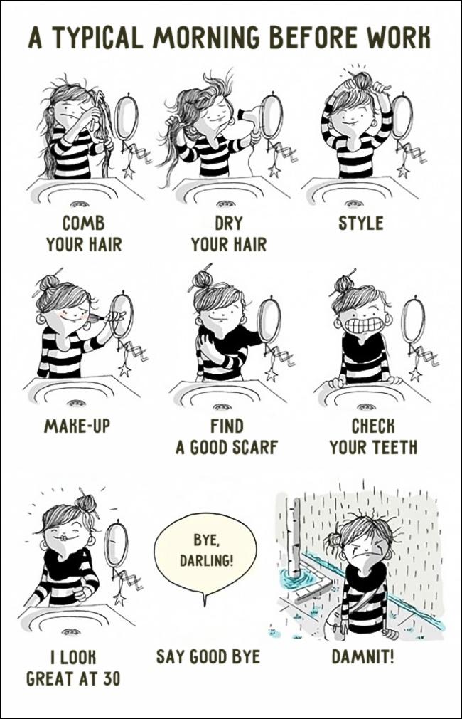 10 Ilustrações Que Explicam Exatamente O Que É Ser Mulher (8)