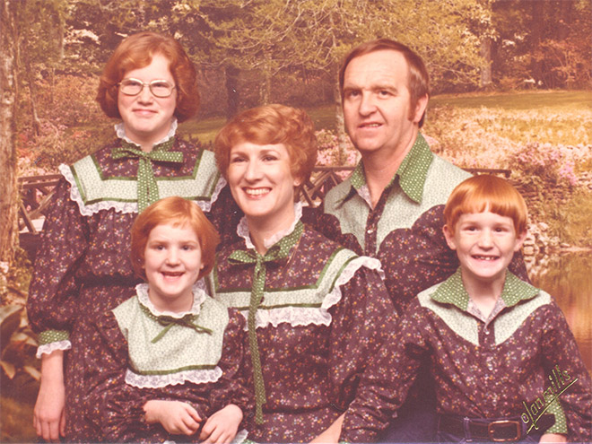 As Estranhas e Hilariantes Fotos de Família Dos Anos 80 (2)