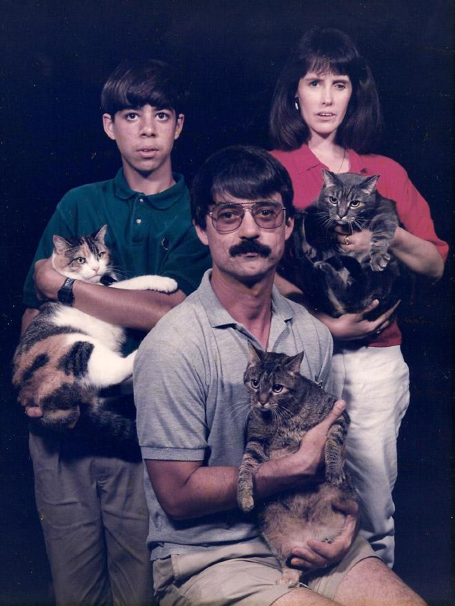 As Estranhas e Hilariantes Fotos de Família Dos Anos 80 (5)