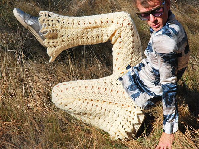 Moda Masculina Outono Inverno 2018 Calças Em Croché (15)