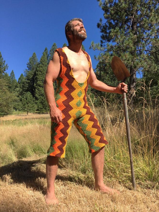Moda Masculina Outono Inverno 2018 Calças Em Croché (18)