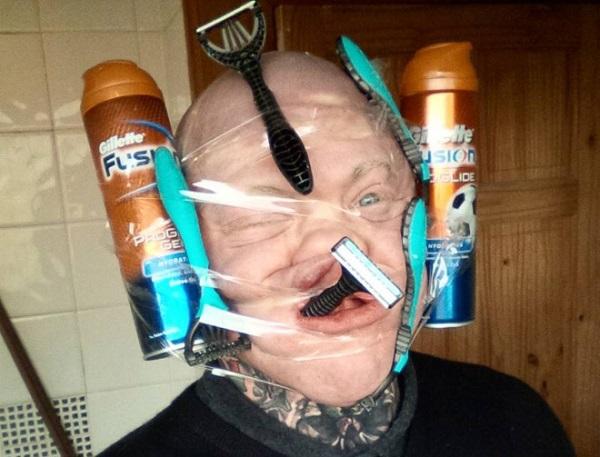WTF! As Mais Estranhas, Assustadoras e Bizarras Selfies na Internet (5)