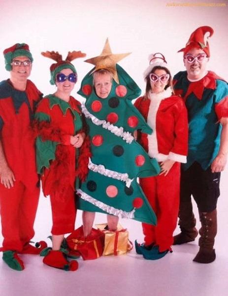 As Mais Estranhas e Hilárias Fotos de Natal