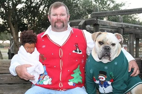 As Mais Estranhas e Hilárias Fotos de Natal14