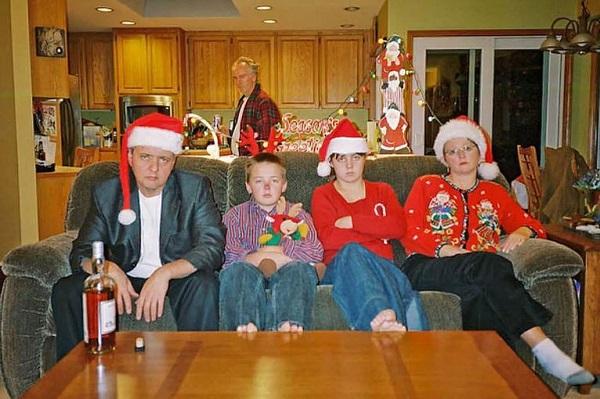 As Mais Estranhas e Hilárias Fotos de Natal20