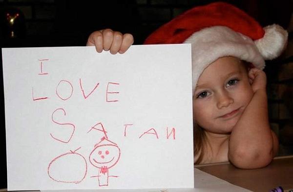 As Mais Estranhas e Hilárias Fotos de Natal6
