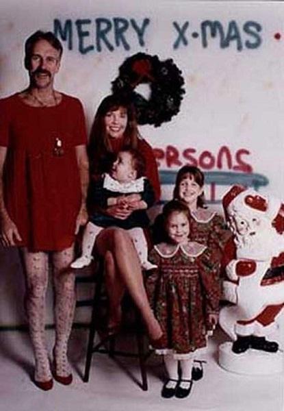 As Mais Estranhas e Hilárias Fotos de Natal8